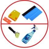 Products for sticking and cleaning