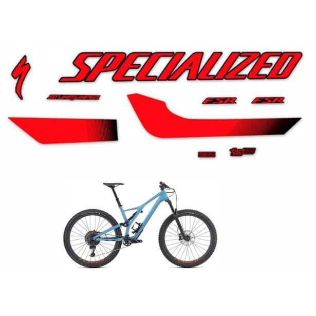 Frame Stickers Specialized Stumpjumper Comp Carbon 2019